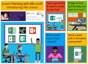 Lesson Planning with Microsoft: Introducing the Lesson! | Teacher